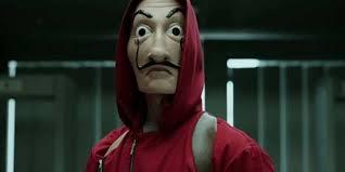 maschera di Salvador Dali