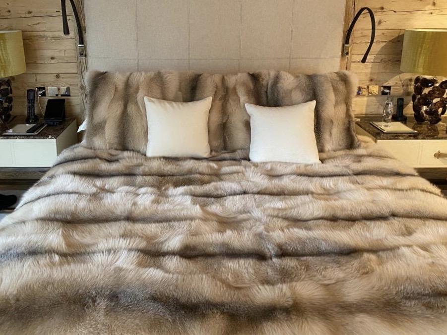 coperta di volpe